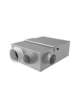 GRUPO SIMPLE FLUJO HIGRO VMC AMCHIR3V 1x125mm - 3x80mm SIBER
