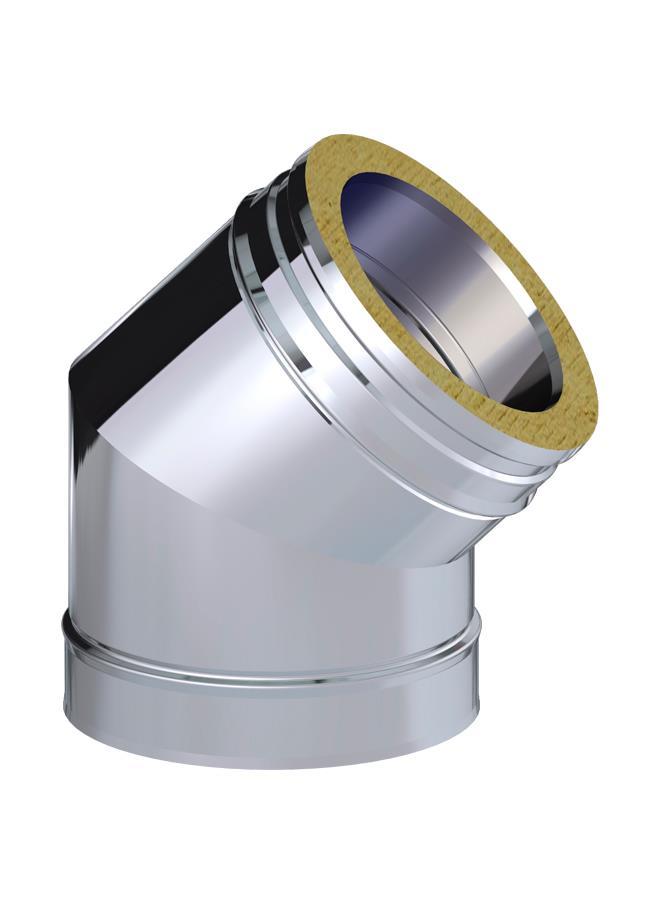 CODO AISL.45º 200 316L/304 C/J