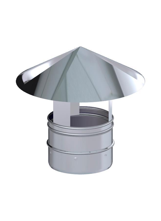 CAPERUZA CHIMEN.INOX 100 316L