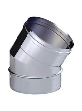 CODO CHIMEN.INOX 30º 200 316L