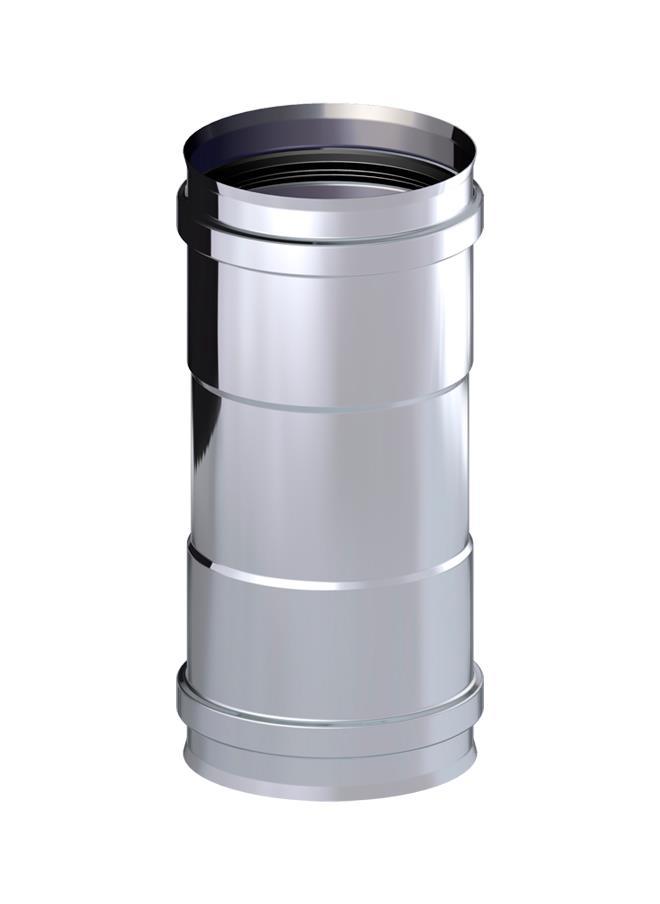 MANGUITO H-H INOX.100 316L