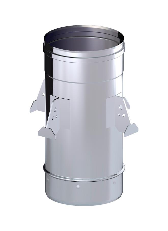 MANGUITO M-M INOX.125 316L