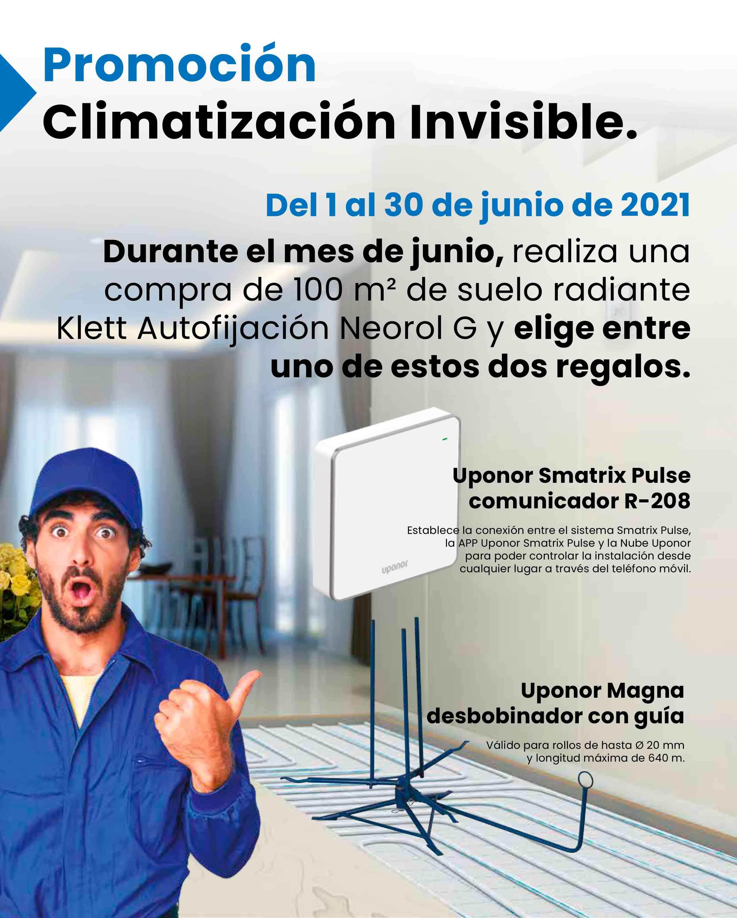 Promoción Climatización Invisible Uponor