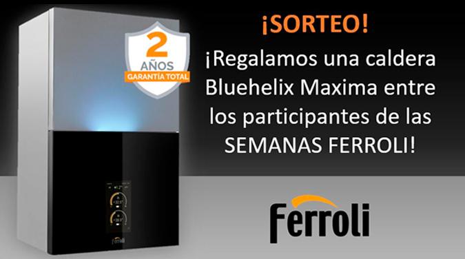 Sorteo de Caldera Ferroli Bluehelix