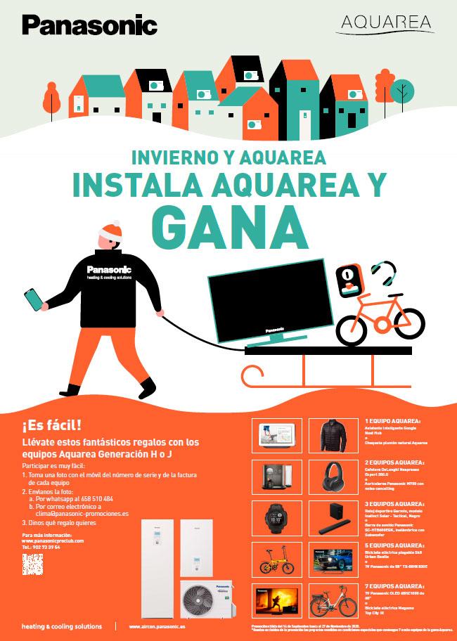 Promoción Panasonic Aquarea